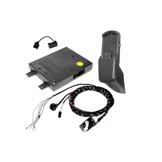 Universal mobile phone preparation retrofit for VW Passat B7